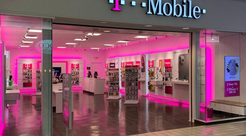 T mobile mobiel telefooon winkel