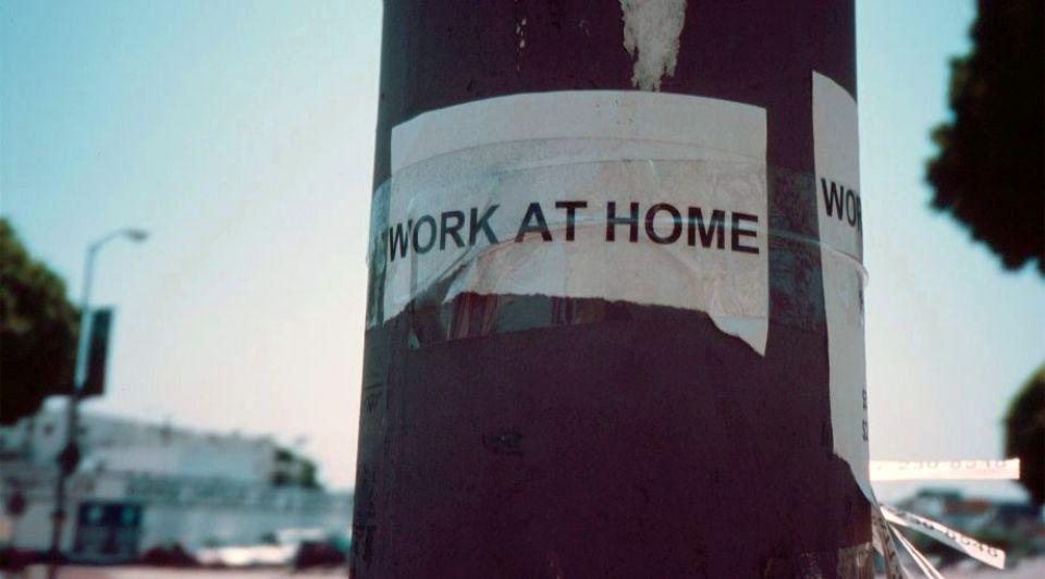 Thuis werk werkgevers onderzoek ondernemers