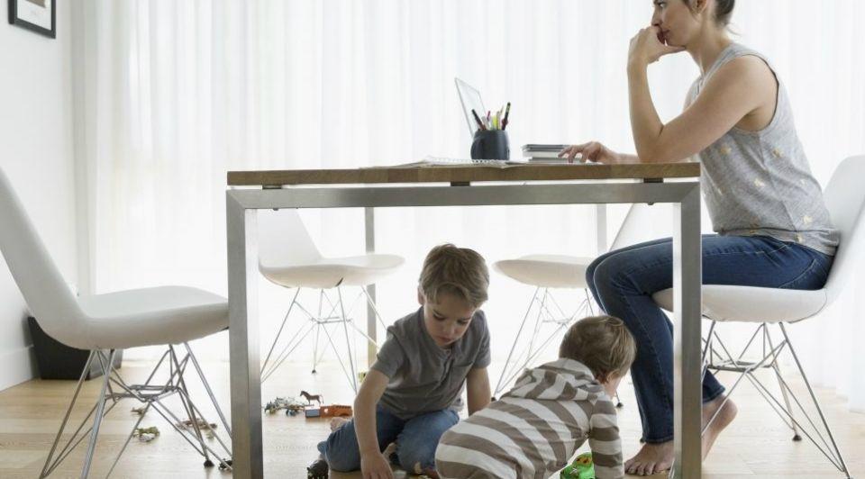 Thuiswerken kinderen