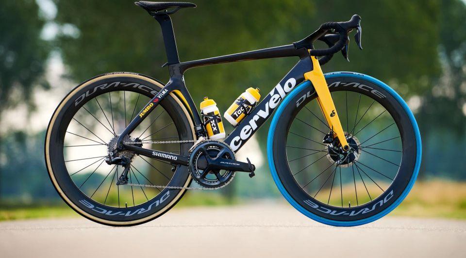 Tour de france fiets swapfiets blauwe band