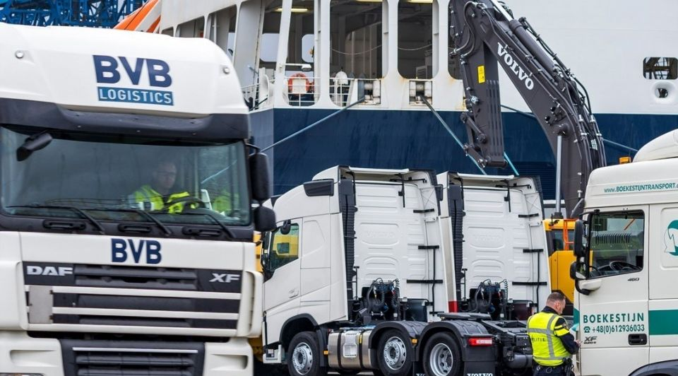 Truck parking haven zeeland brexit 4