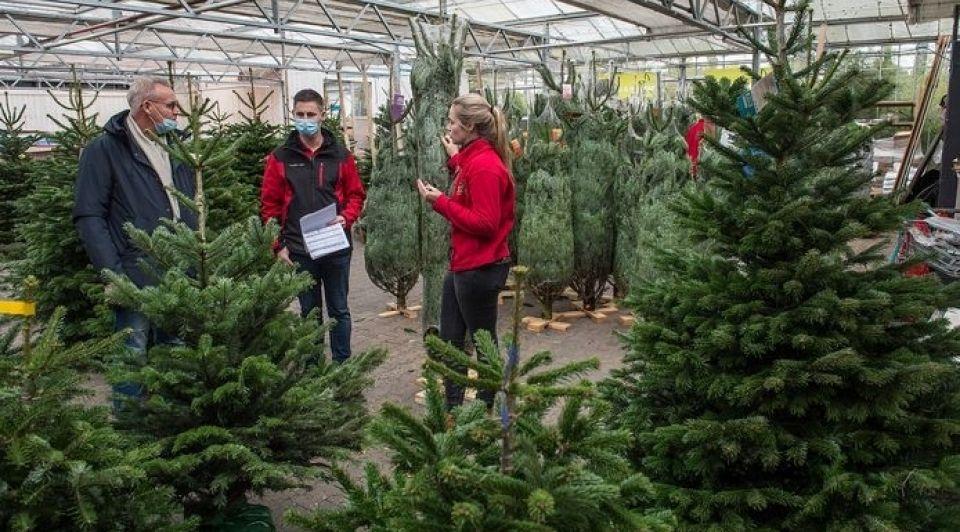 Tuincentrum kerstbomen klanten expliciet