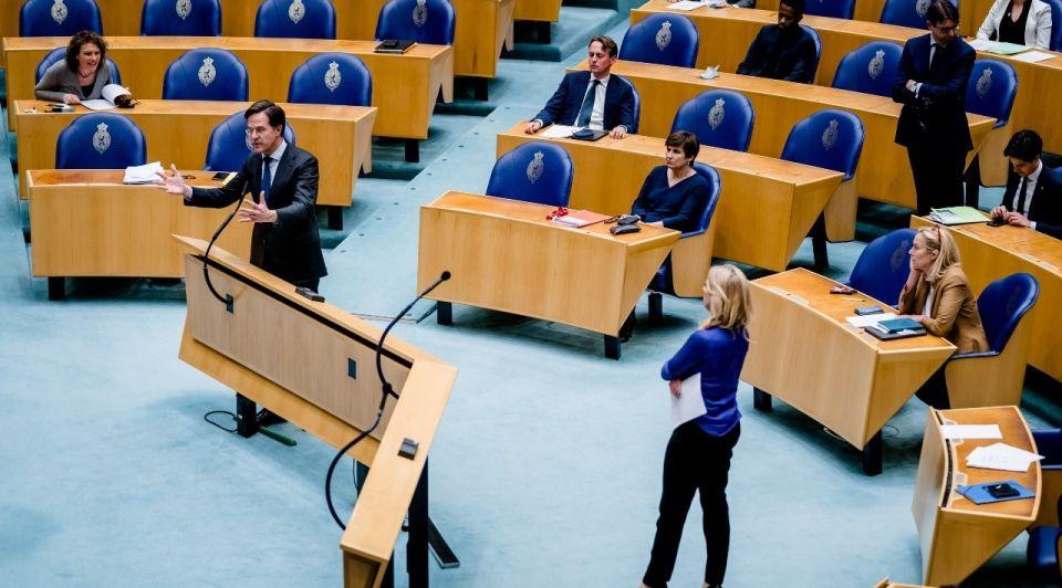 Tweede kamer rutte debat lockdown corona