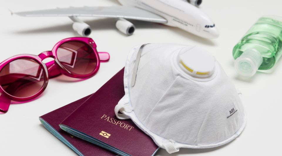 Vakantie buiten europa paspoort mondkapje