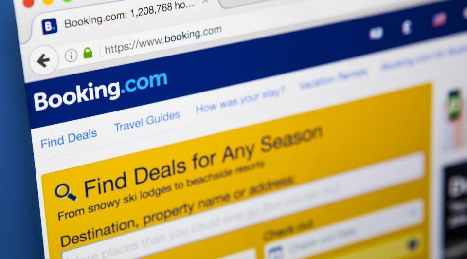 Vakantie toerisme website booking com