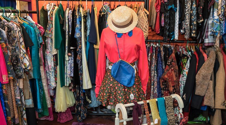 Vintage kleding winkel