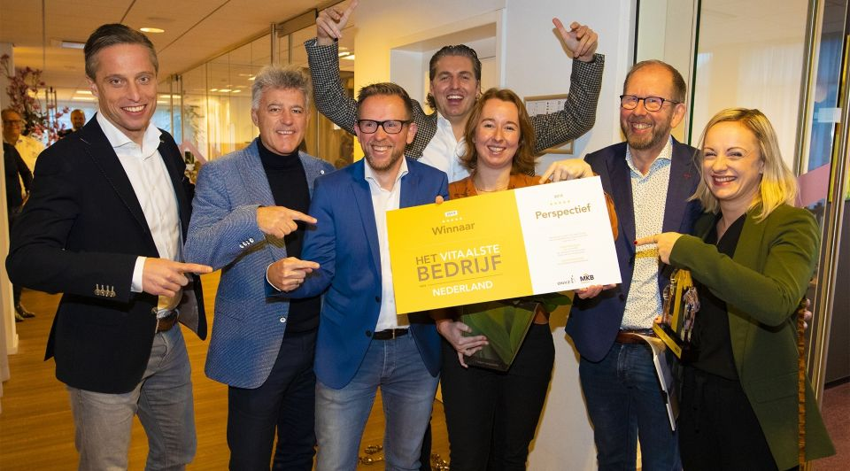 Vitaalste bedrijf nederland onvz