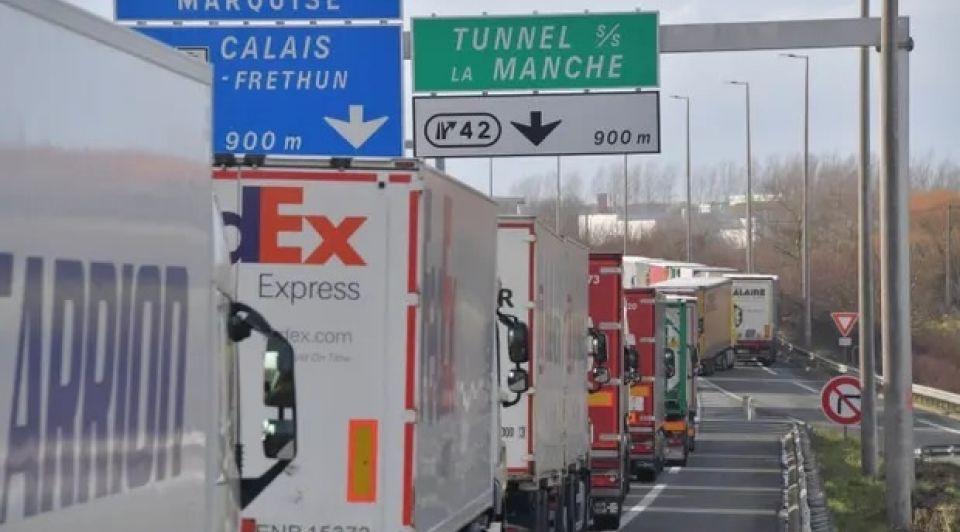 Vrachtverkeer brexit grens