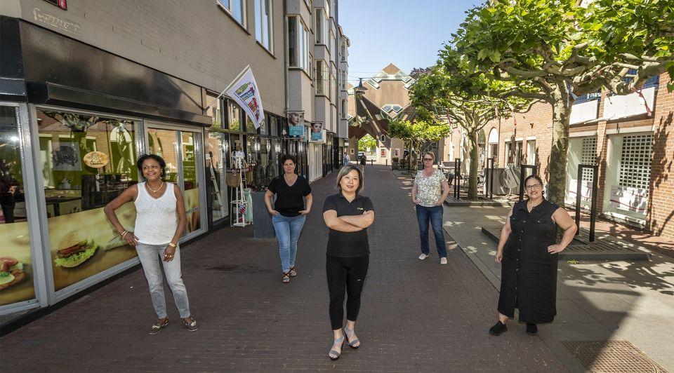 Vrouwen ondernemers helmond winkelstraat