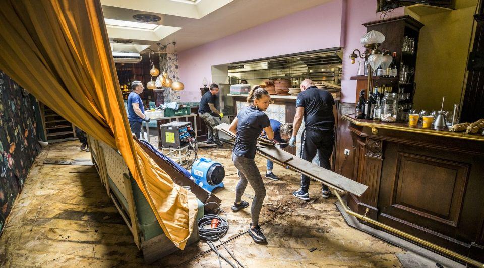 Wateroverlast limburg watersnood ramp bedrijven coronasteun TVL NOW kabinet