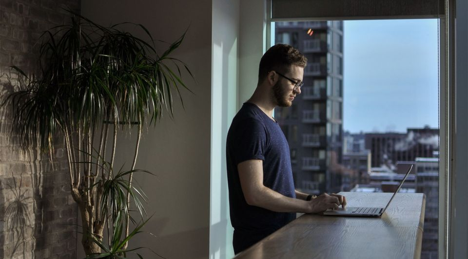 Werk afstand boek management toekomst