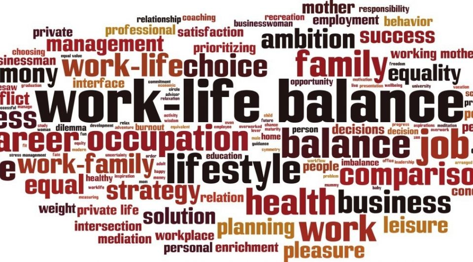 Werk prive leven balans drukte