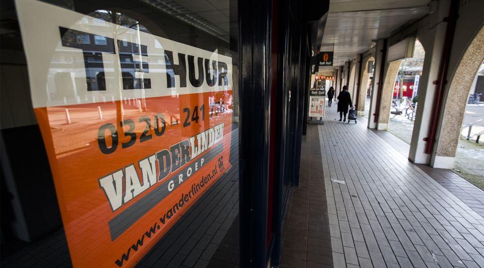 Winkelstraat leegstand retail