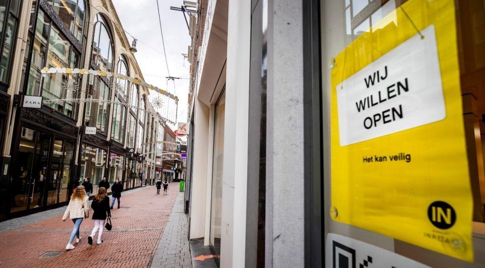Winkelstraat lockdown inretail retail open coronacrisis
