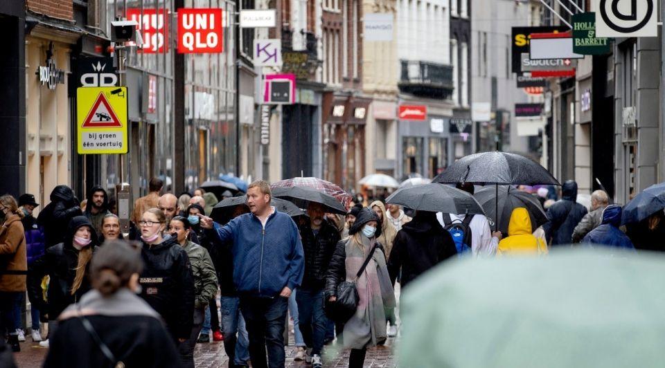 Winkelstraat open lockdown