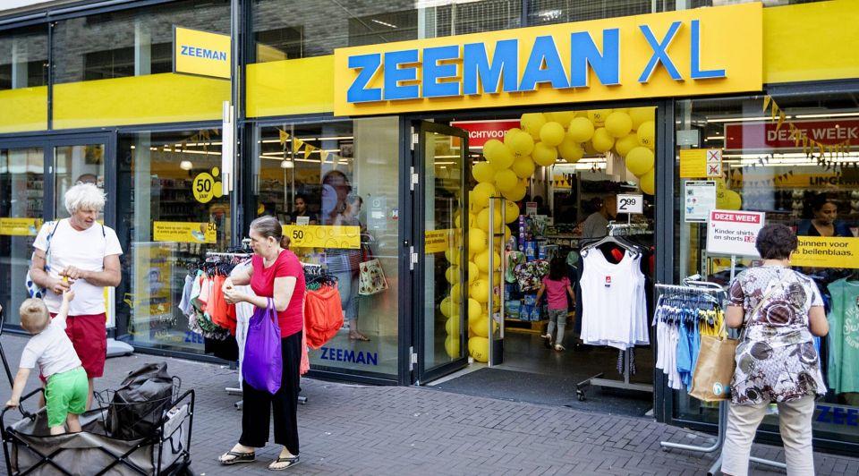 Zeeman xl winkel retail