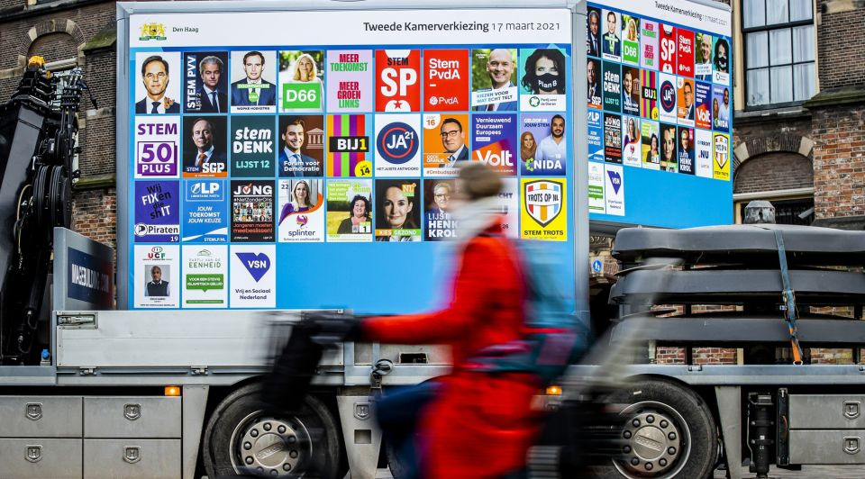 Zzp stemgedrag verkiezingen vvd d66 groenlinks vertrouwen politiek