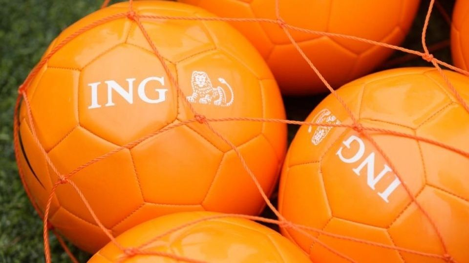 ING voetbal KNVB oranje EK sponsor