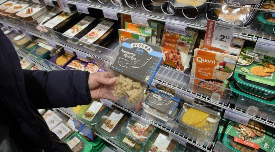Supermarkt vivera hollandse hoogte vleesvervanger