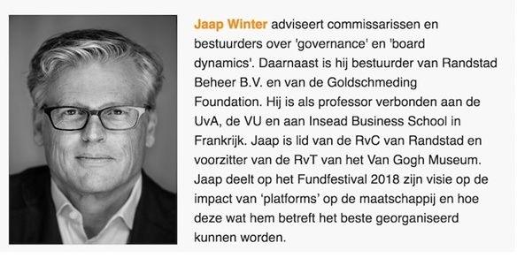 Ruilof van putten NL Investeert financieringsplatform fundfestival zakelijke dienstverlening financiering ondernemer jaap winter