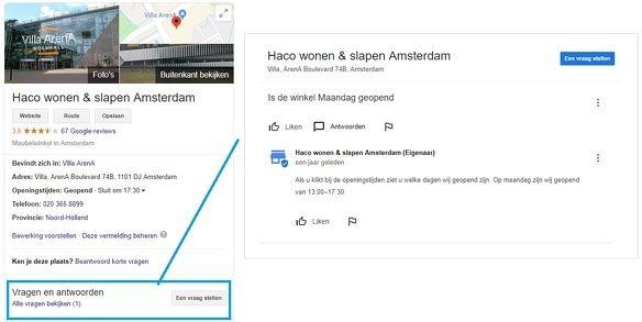Google Mijn Bedrijf Google Mijn Bedrijf lokaal zoeken zoekresultaat 7