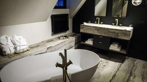 Hotel gulde schoen badkamer