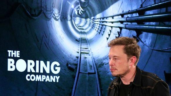 The boring company elon musk tesla vlammenwerper not a flamethrower