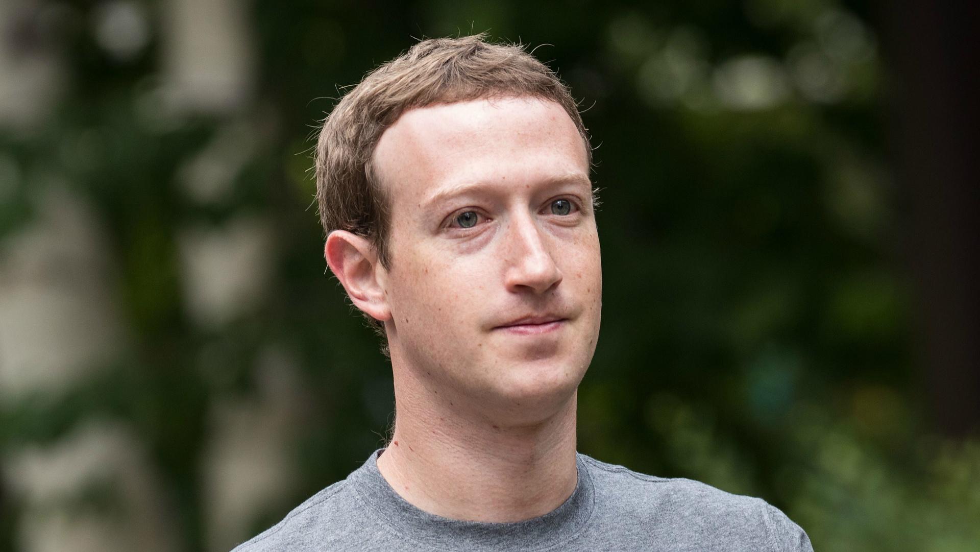 Mark Zuckerberg, oprichter van Facebook.