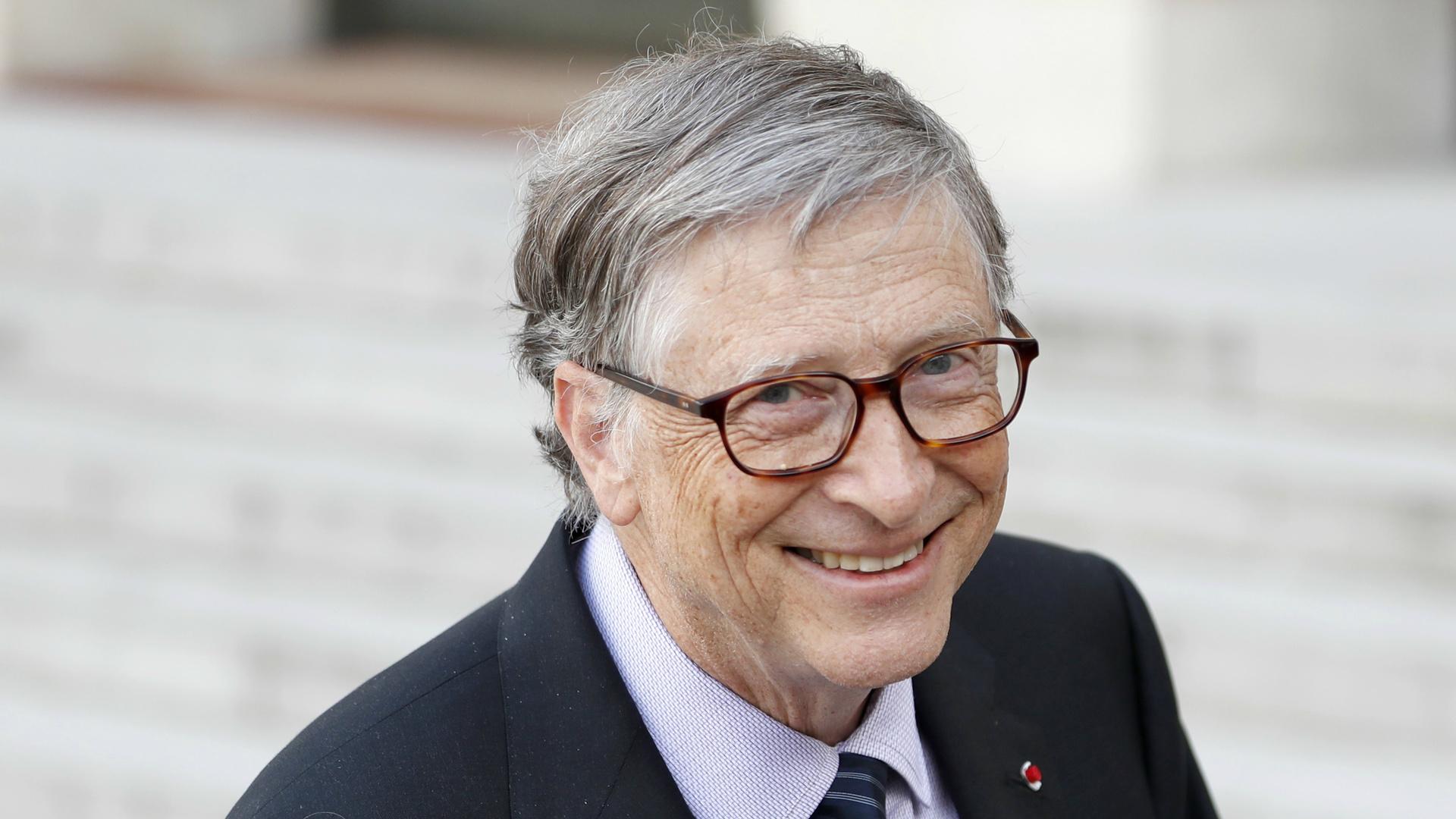 Bill Gates, mede-oprichter van softwaregigant Microsoft.