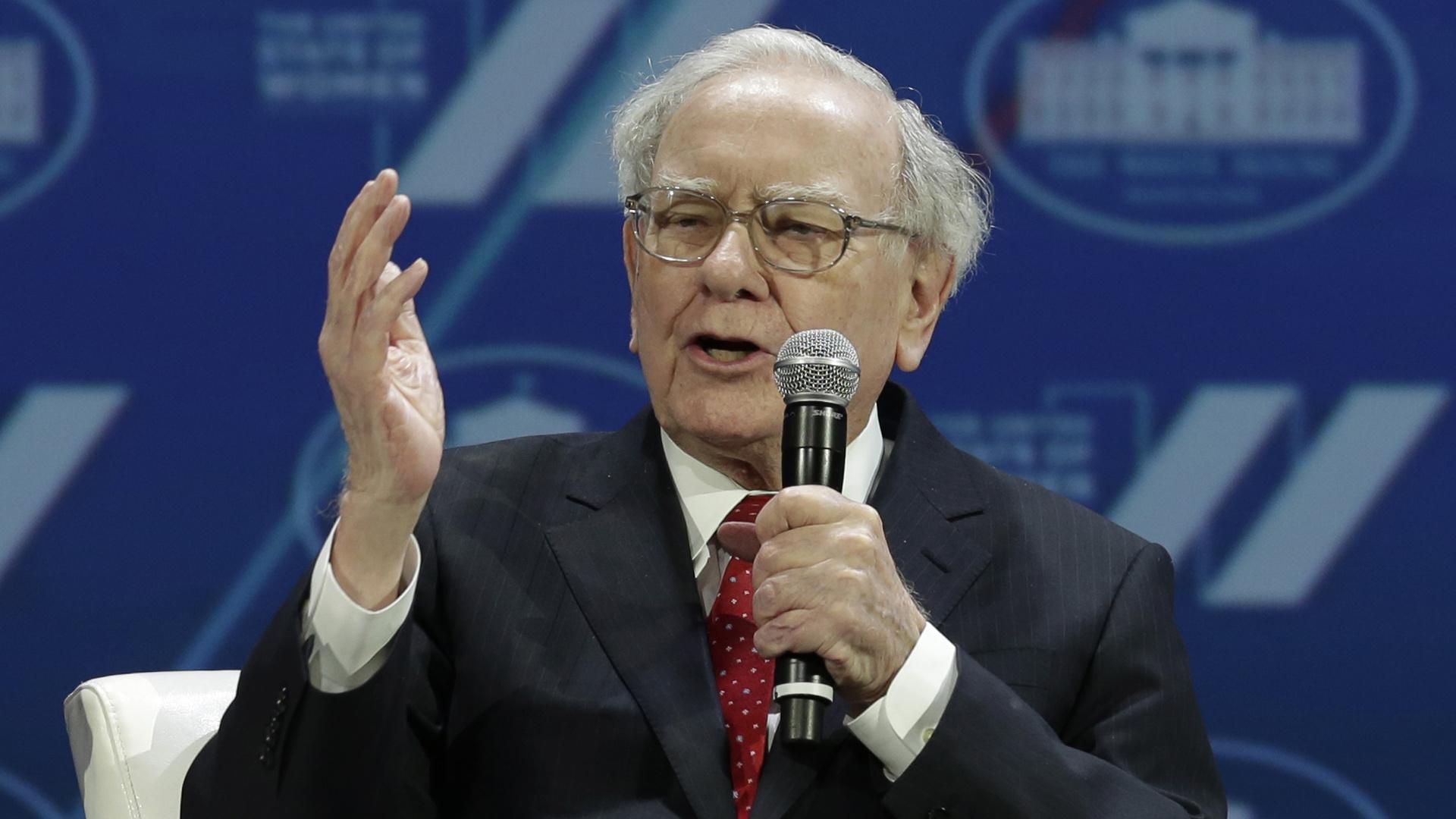 Amerikaans zakenman en investeerder Warren Buffet