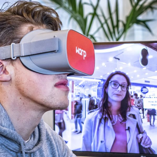 Warp Industries VR bril