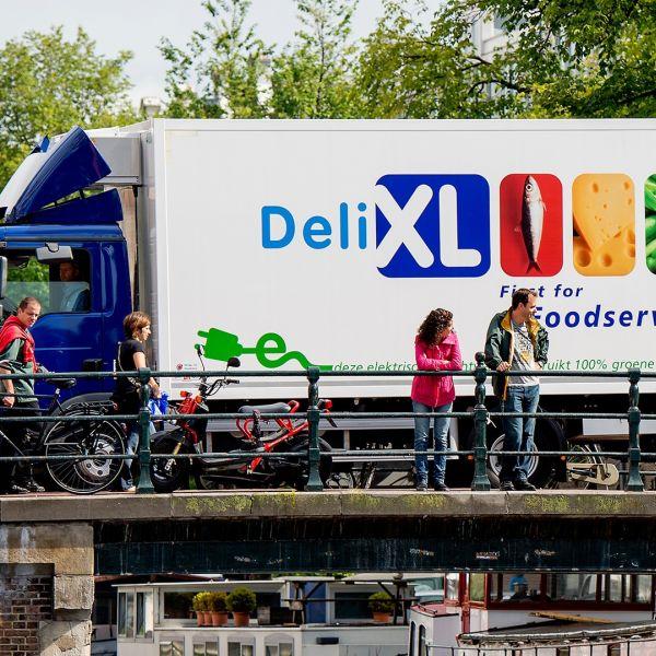 Electrische vrachtwagen