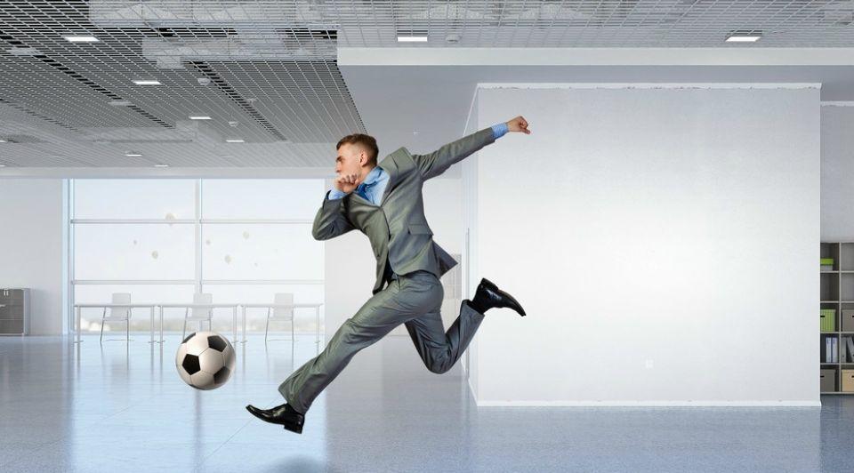 11 lessen voetbal voetbalveld ondernemers leren
