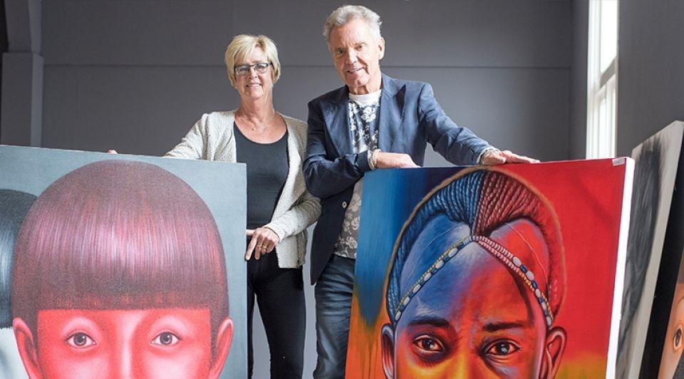 65 jarig echtpaar begint eigen bedrijf Lenneke Lingmont