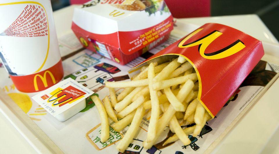 ANP friet mcdonalds kleiner patat frietjes kleinere aardappelen 1