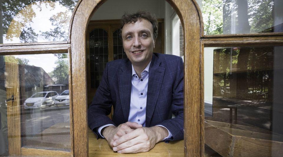 Alex van Hooff directeur van Burgers Zoo Erik van t Hullenaar