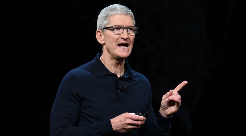 Apple i Phone Tim Cook