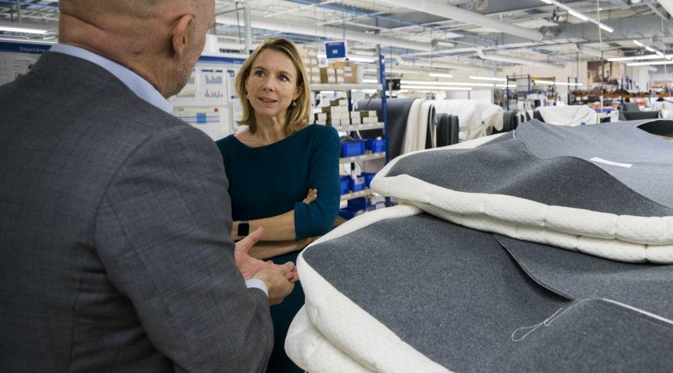 Auping matrassen fabrikant deventer