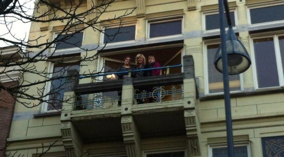 Balkon VD Deventer Rudi Hofman