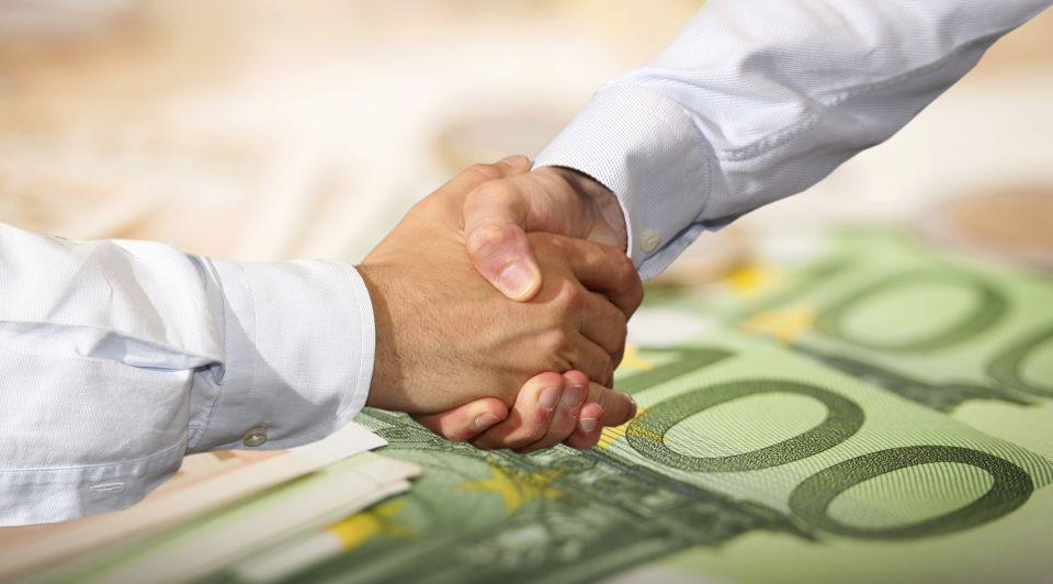 Bedrijf Geld Overeenkomst Thinkstock