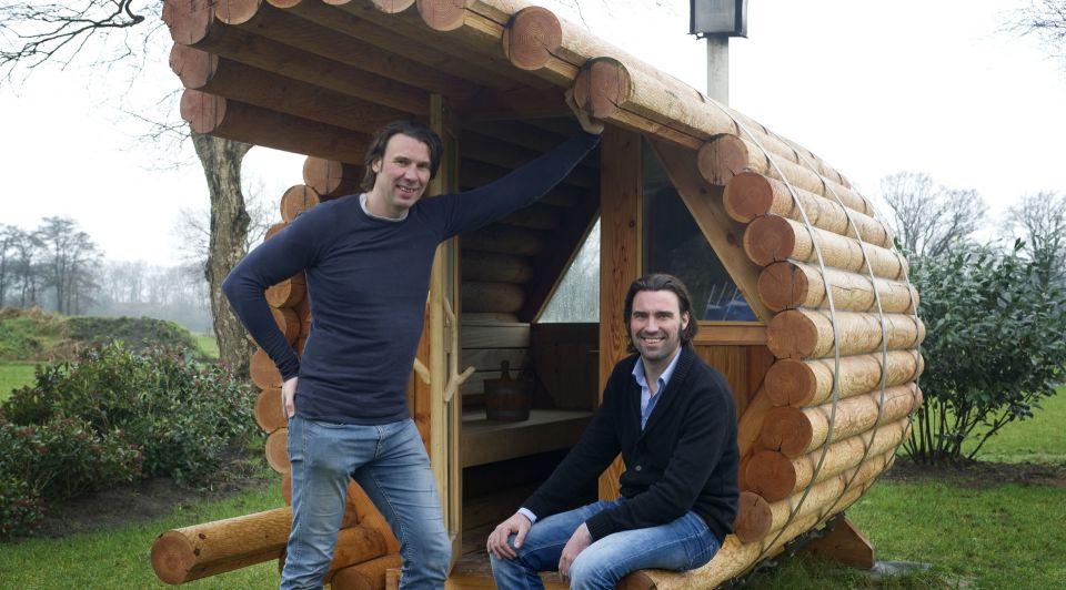 Bertrand l en Yvo Blokhuis Blokhuis Speciaalbouw Frans Nikkels