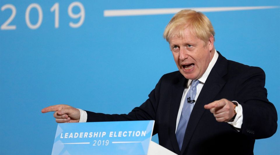 Brexit Boris Johnson column podcast