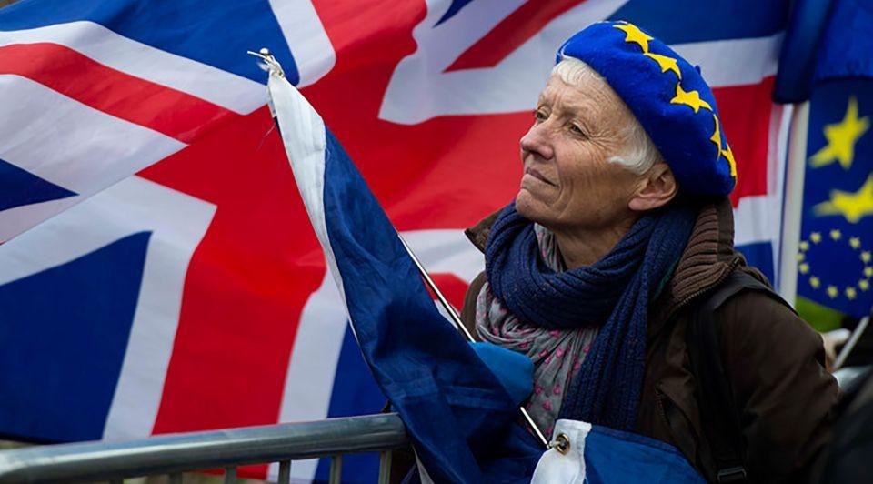 Brexit protesten