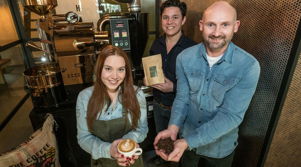 Bruut espressobar zoetermeer koffie branderij latte talent