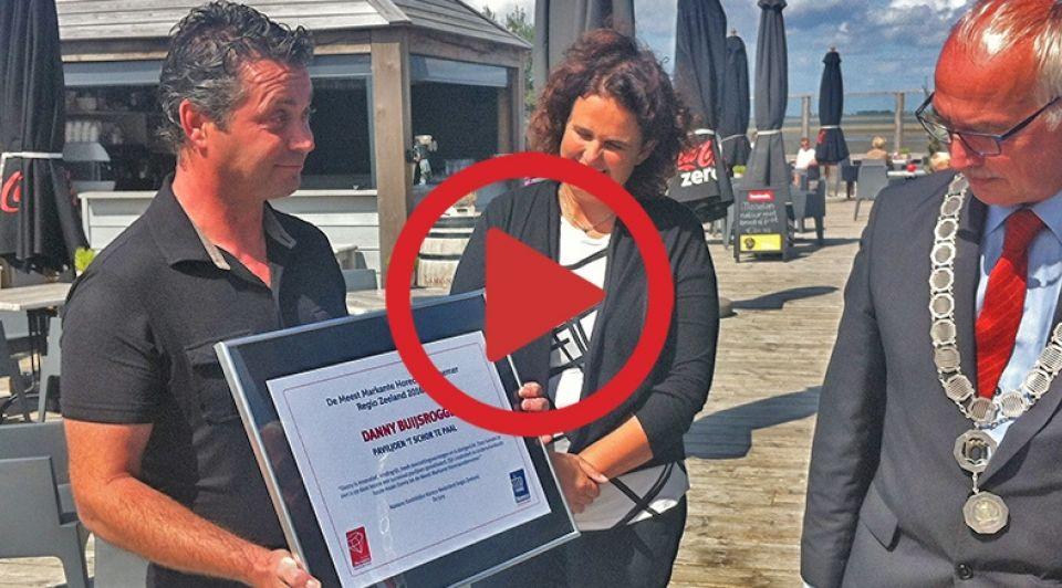 Danny en Christien Buijsrogge van paviljoen t Schor foto Frank Balkenende met playbutton