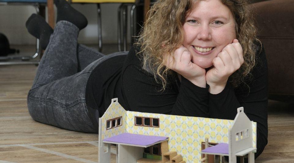 Dilian de Bruin tiny house