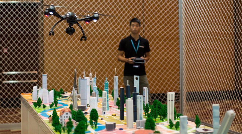 Drone bouwsector hong kong