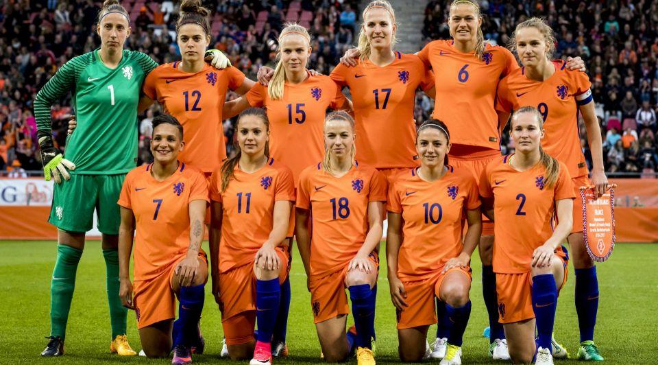 EK voetbal voor vrouwen Oranjevrouwen