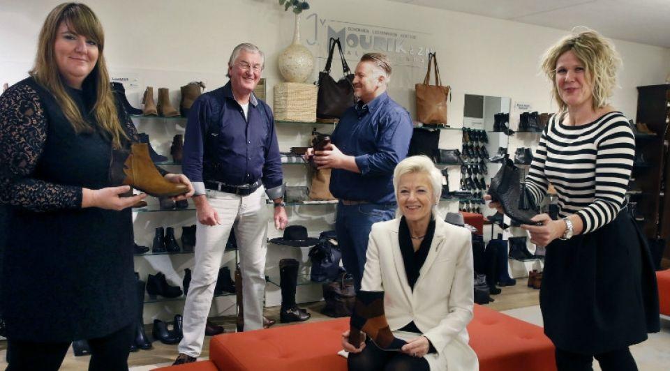 Familie van Maurik schoenenwinkel