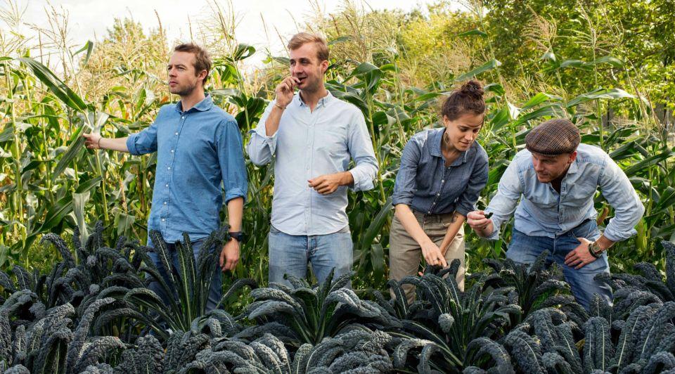 Farm Brothers photo biologisch koekje ondernemer